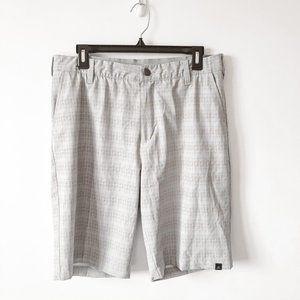 Adidas Men's Light Grey Pink Golf Shorts Sz 32